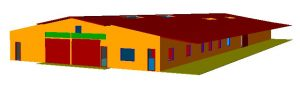 Massey Equine Vet School Simulation Model
